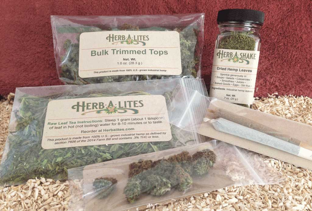 Herbalites.com hemp products
