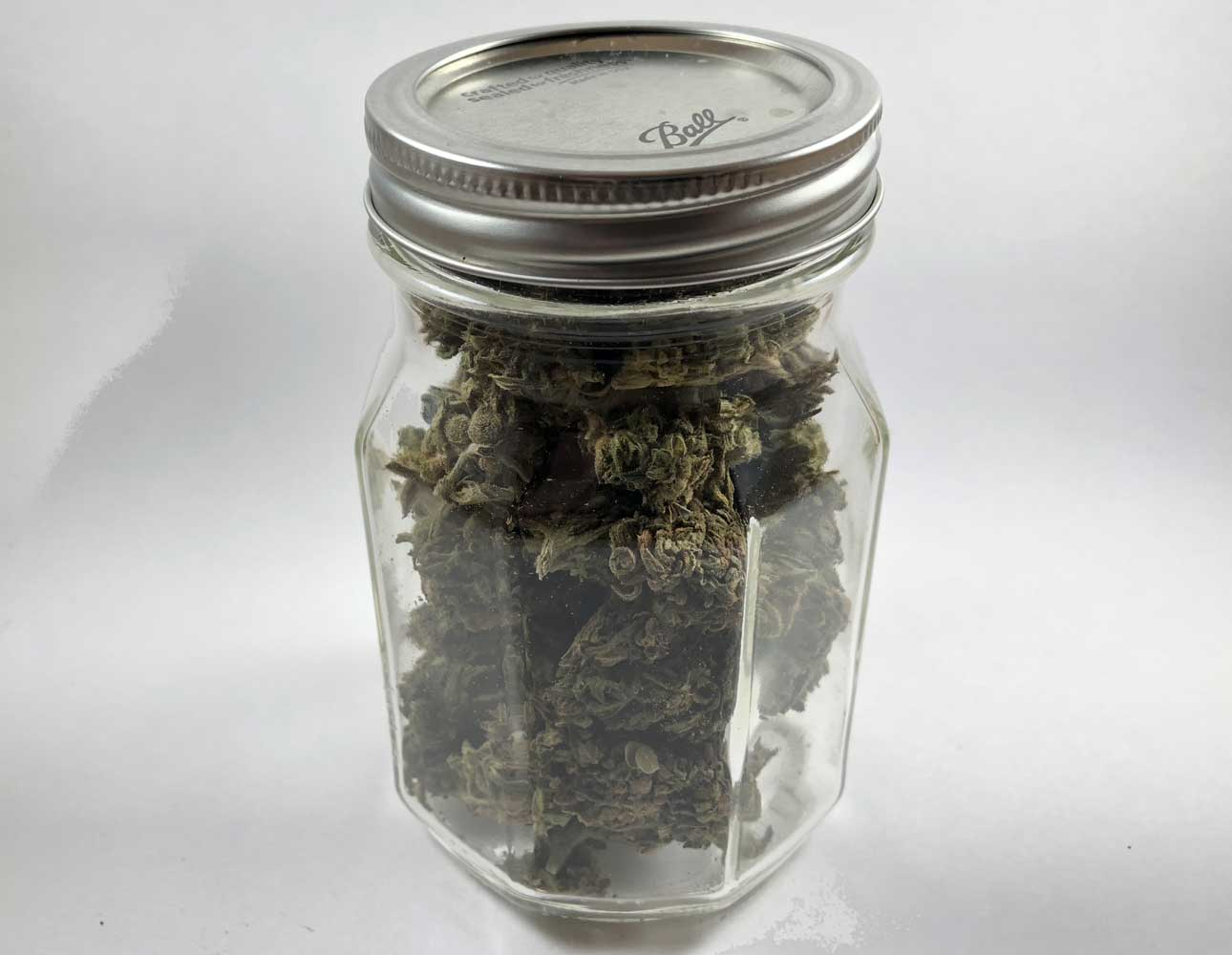 CBD Hemp Direct in a jar
