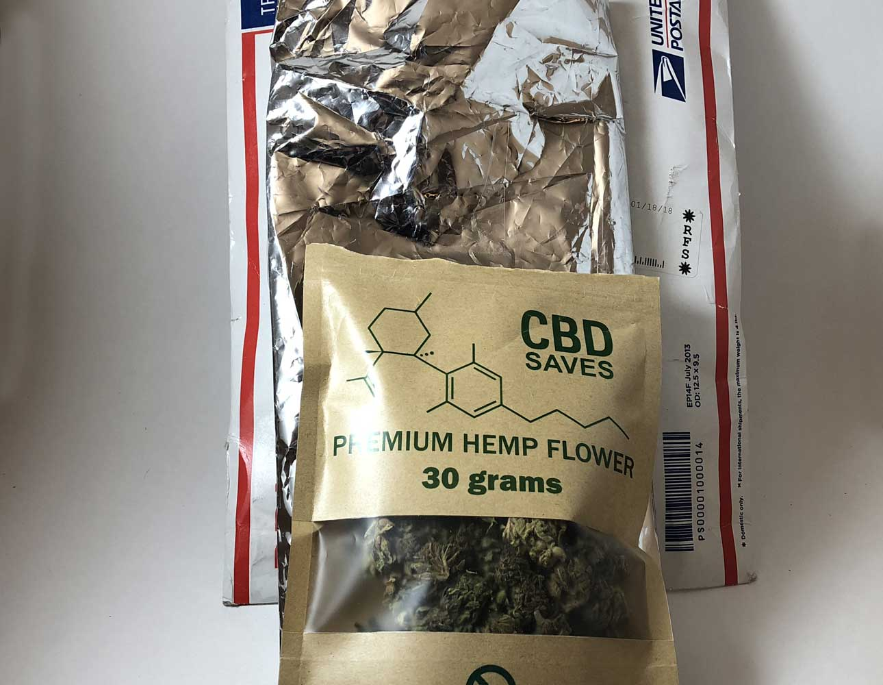 CBD Hemp Direct shipping packages
