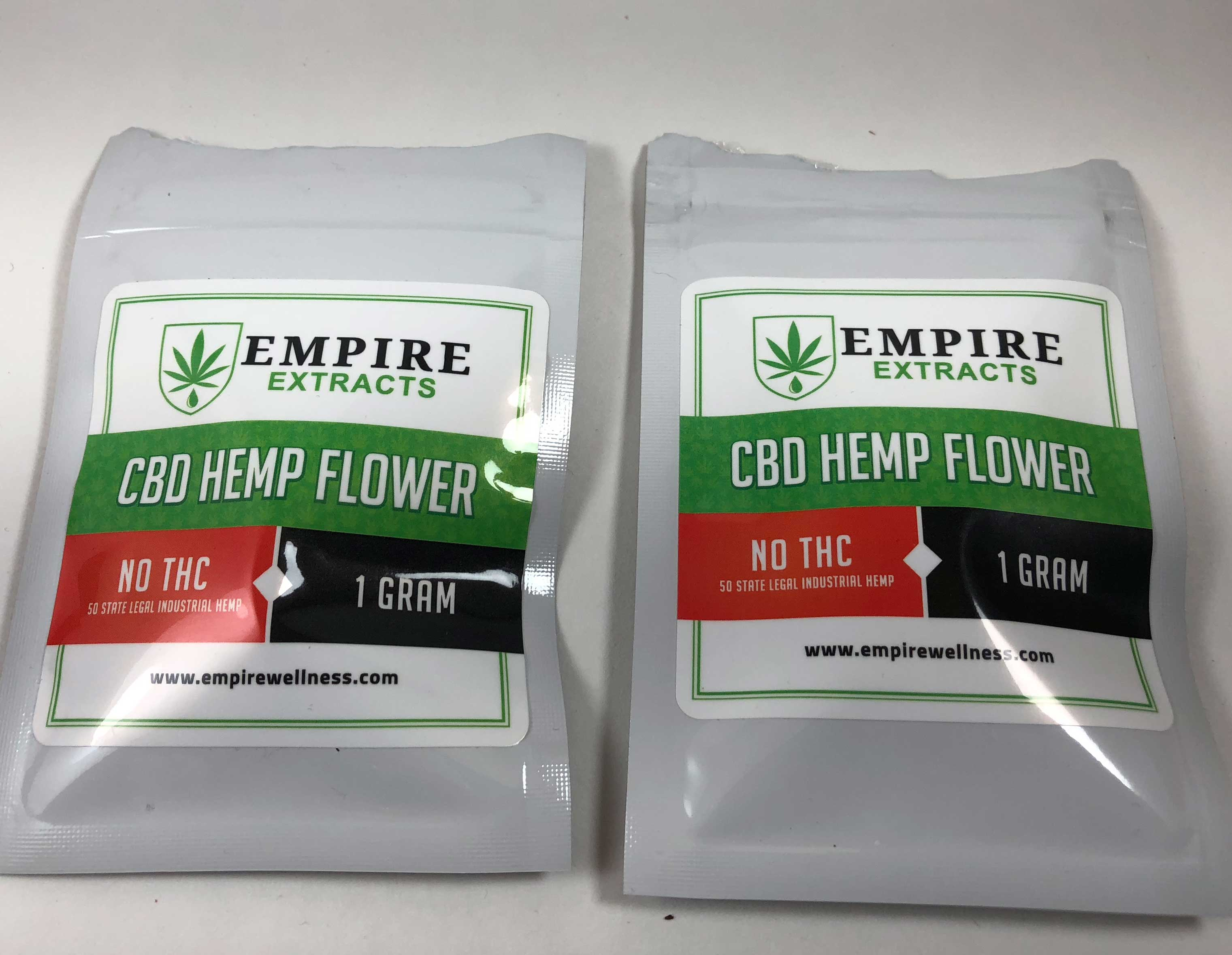 Review of CBD Flower from Empire Extracts - mjgeeks