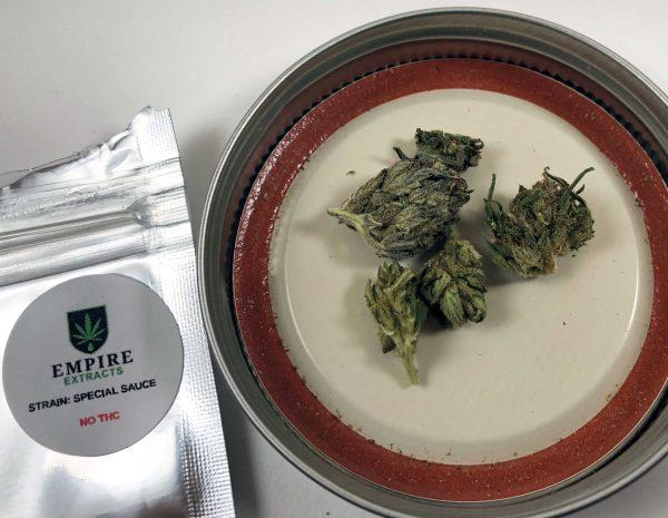 1 Gram Special Sauce from Empire Wellness – Legal CBD Flower