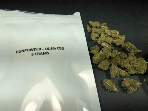 Gunpowder CBD Flower from CBD Hemp Direct