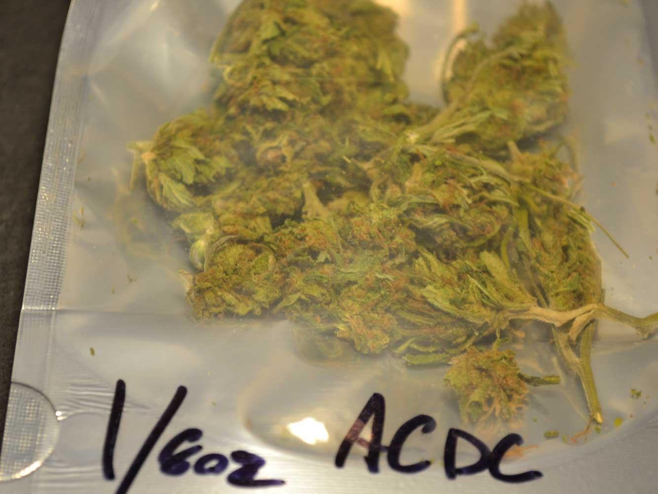 AC/DC CBD Flower / hemp from Tweedle Farms