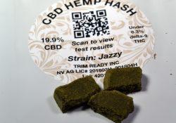 Jazzy CBD Hemp Hash