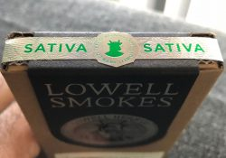 Review of Lowell Smokes Pre rolls - pack top
