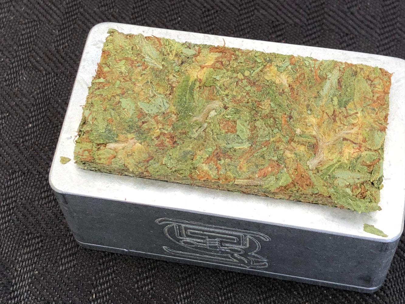 CBD Flower Rosin - prepped hemp buds