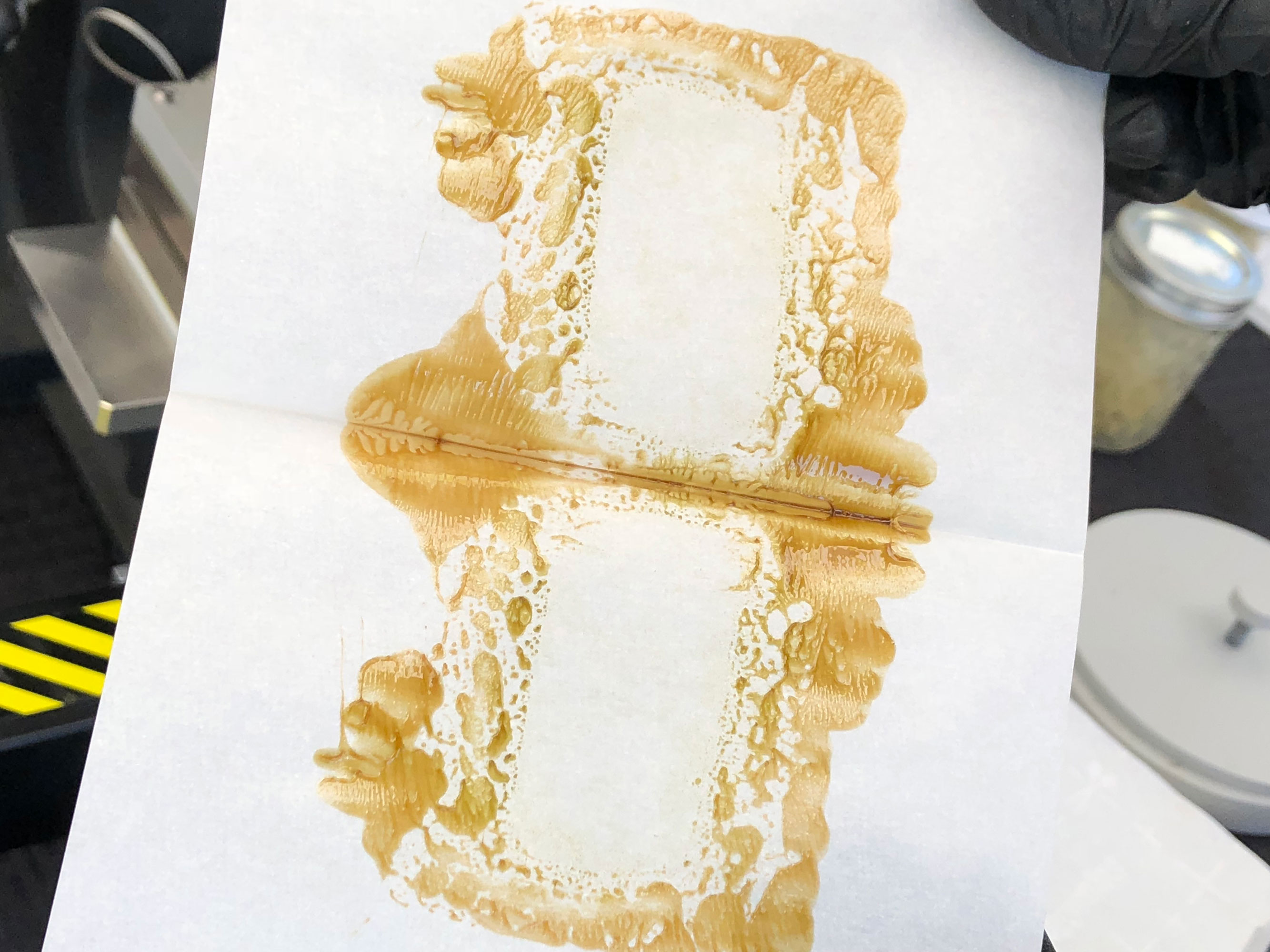 CBD Flower Rosin - Result 2