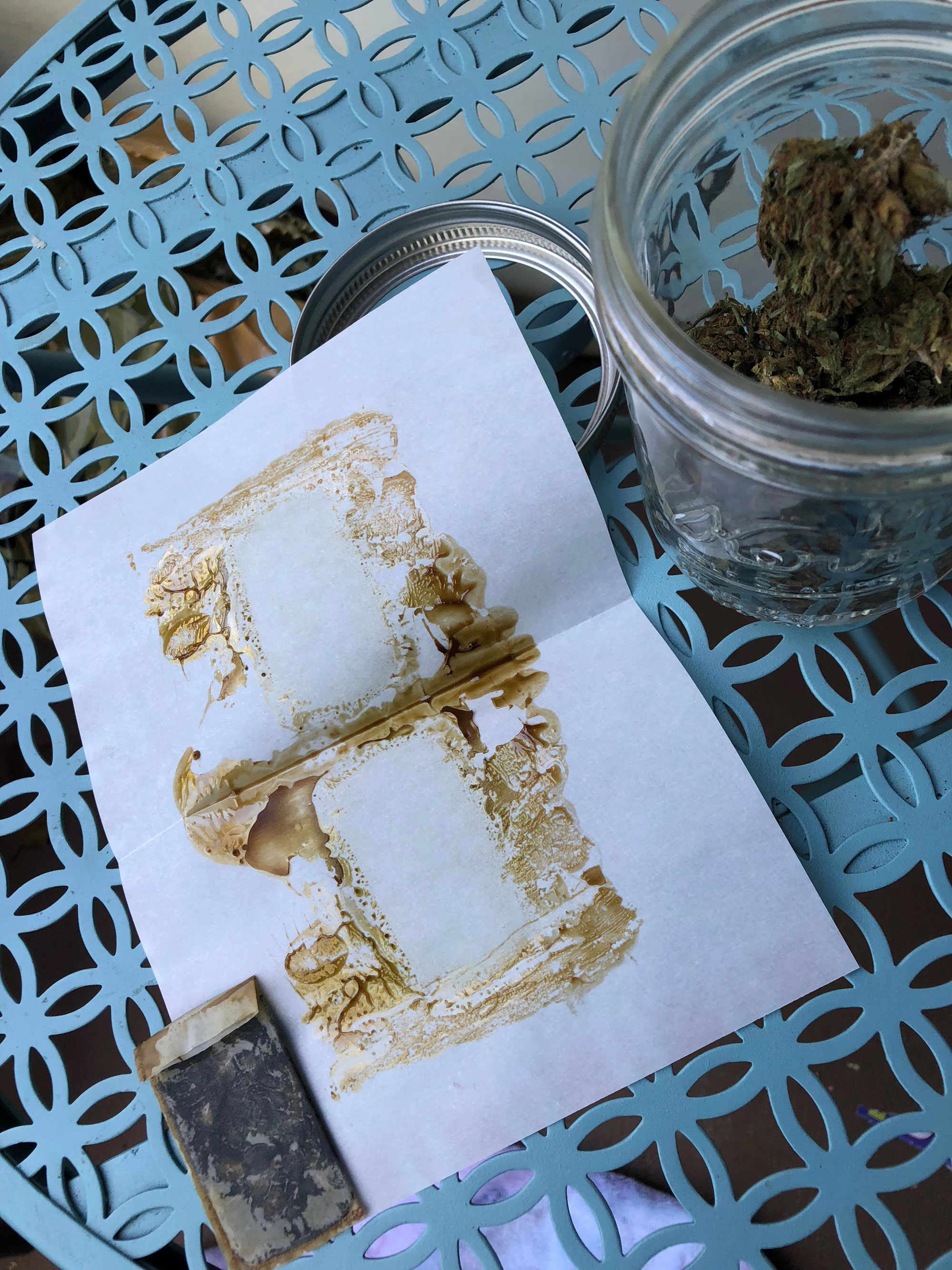 CBD Flower Rosin - Yield