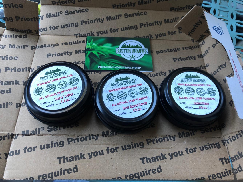 Boston Hempire - packaging
