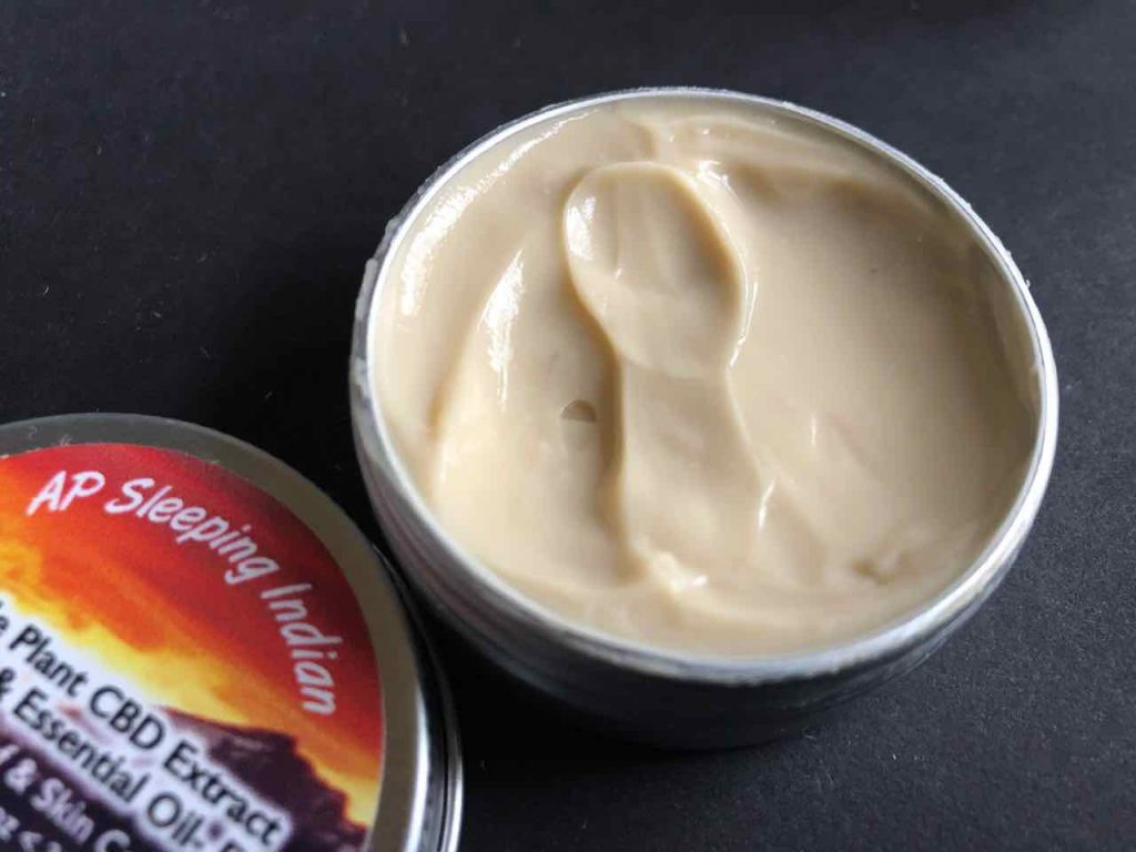 AP Sleeping Indian CBD Cream